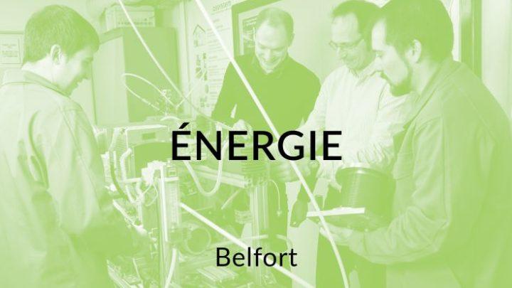 FEMTO-ST à Belfort - Département Energie